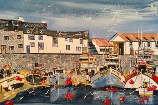 Polperro Boats, Ian Kesterton